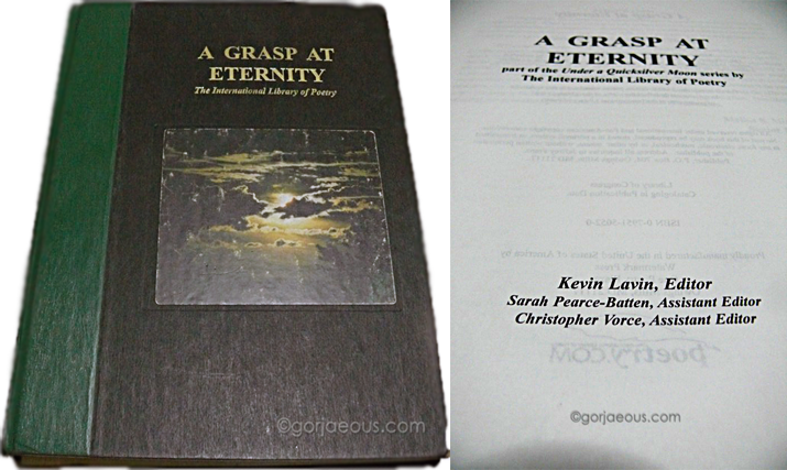 A Grasp at Eternity The International Library of Poetry