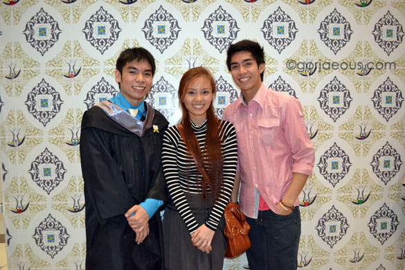Roi's Graduation (left) at UST Sports Complex (March 2012)