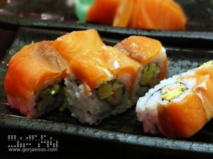 Smoked Salmon Roll