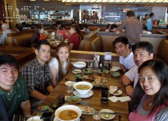 Family at Watami Japanese Restaurant