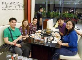 Family at Sambo Kojin