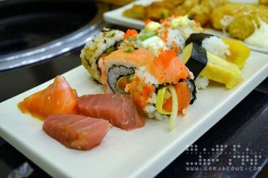 Sushi and Sashimi at Sambo Kojin