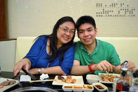 Mom and Roi