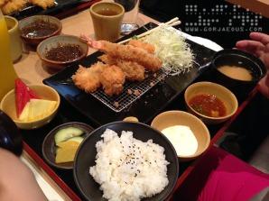 Seafood Katsu Set 1 at Yabu: The House of Katsu, SM Mall of Asia