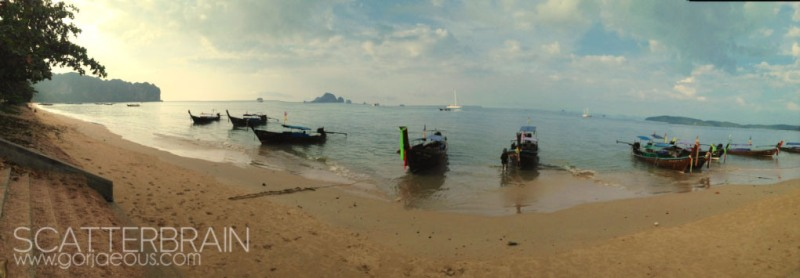 Longtail Boats | Ao Nang Beach