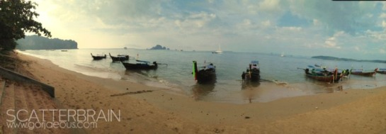 Longtail Boats | Ao Nang Beach