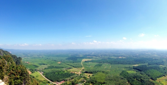 That breathtaking overlooking view at The Bell Tower   Tiger Cave Temple