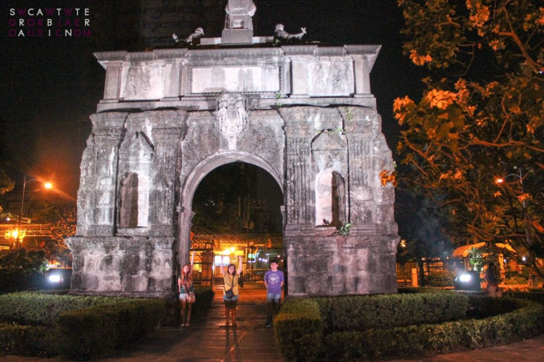 Photo taken at the Arch of The Centuries