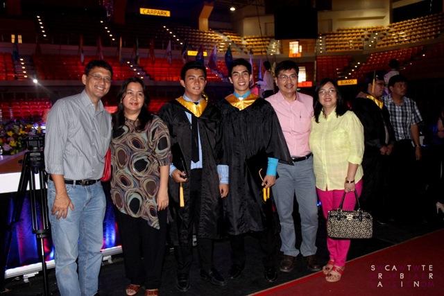Proud Parents of The Graduates